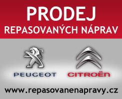 Prodej repasovaných náprav Peugeot a Citroen